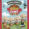 BEN & JERRY'S Glace en Mini Pots Cone Together 4x100ml - Produit