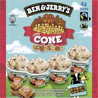 BEN & JERRY'S Glace en Mini Pots Cone Together 4x100ml - Produit - fr