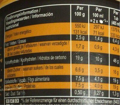 Salted Caramel Cake - Información nutricional - es