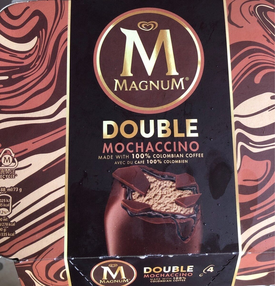 Magnum Double Mochaccino x4 - Product - fr