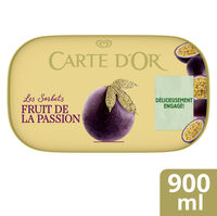 Carte D'or Sorbet Fruit de la Passion 900ml - Prodotto - fr
