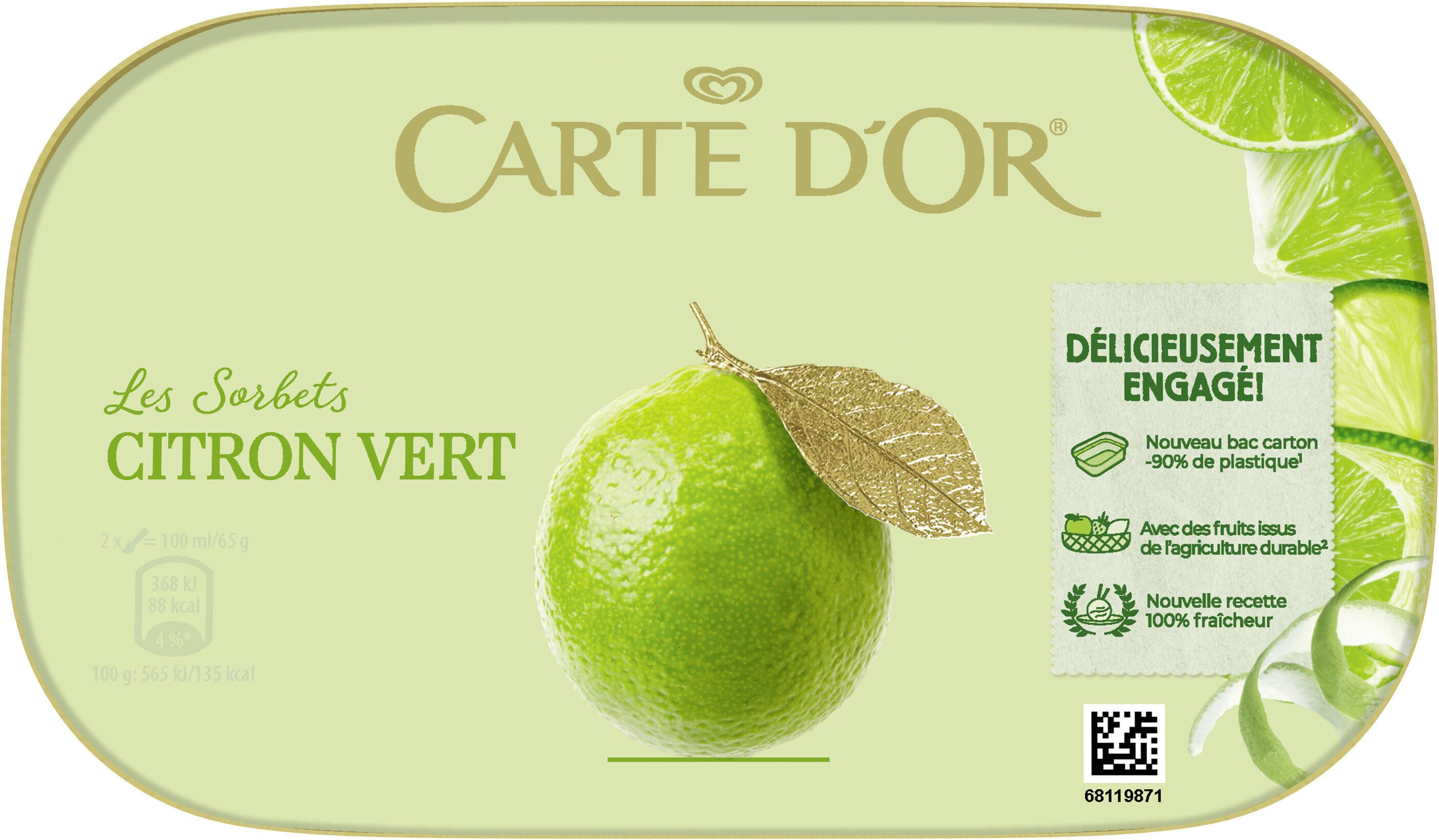 Carte D'or Sorbet Citron Vert - Product - fr