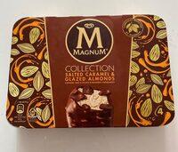 Magnum Glace Bâtonnet Caramel Salé & Amandes Caramélisées x4 - Produit - fr