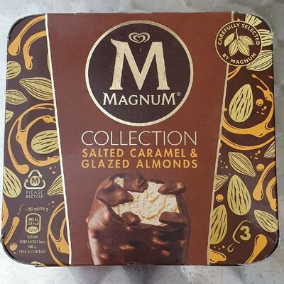 Magnum collection saltwd caramel&glazed almonds - Product - de