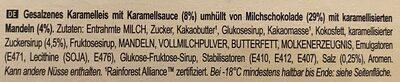 Magnum collection saltwd caramel&glazed almonds - Ingredients - de