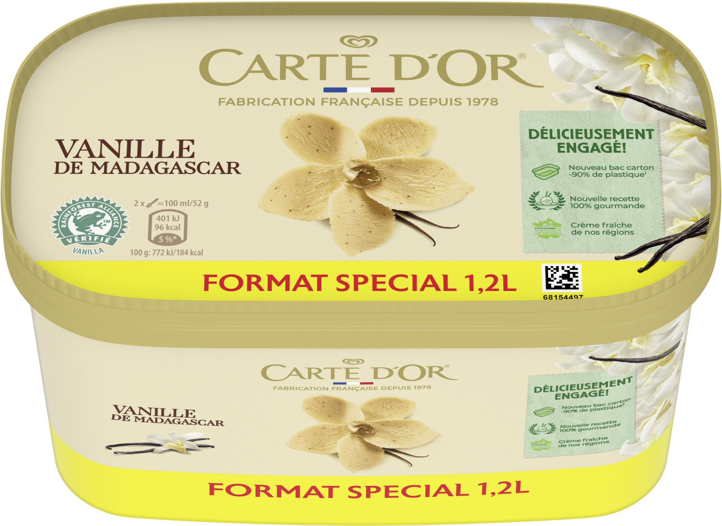 Carte D'or Glace Vanille de Madagascar 1200ml - Prodotto - fr
