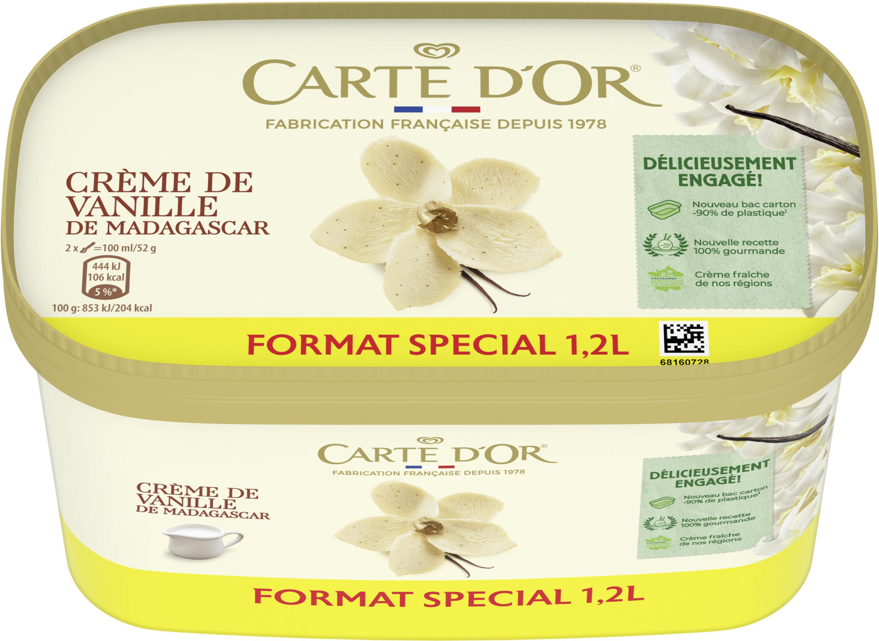 Carte D'or Glace Crème de Vanille 1200ml - Prodotto - fr