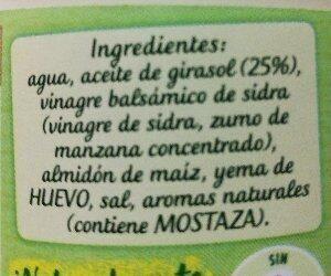 Nature - Ingredientes