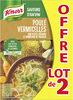 Knorr Soupe Poule Vermicelles Petits Légumes Lot - Produit