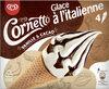Cornetto Glace à l'Italienne Vanille & Cacao 140ml - Product