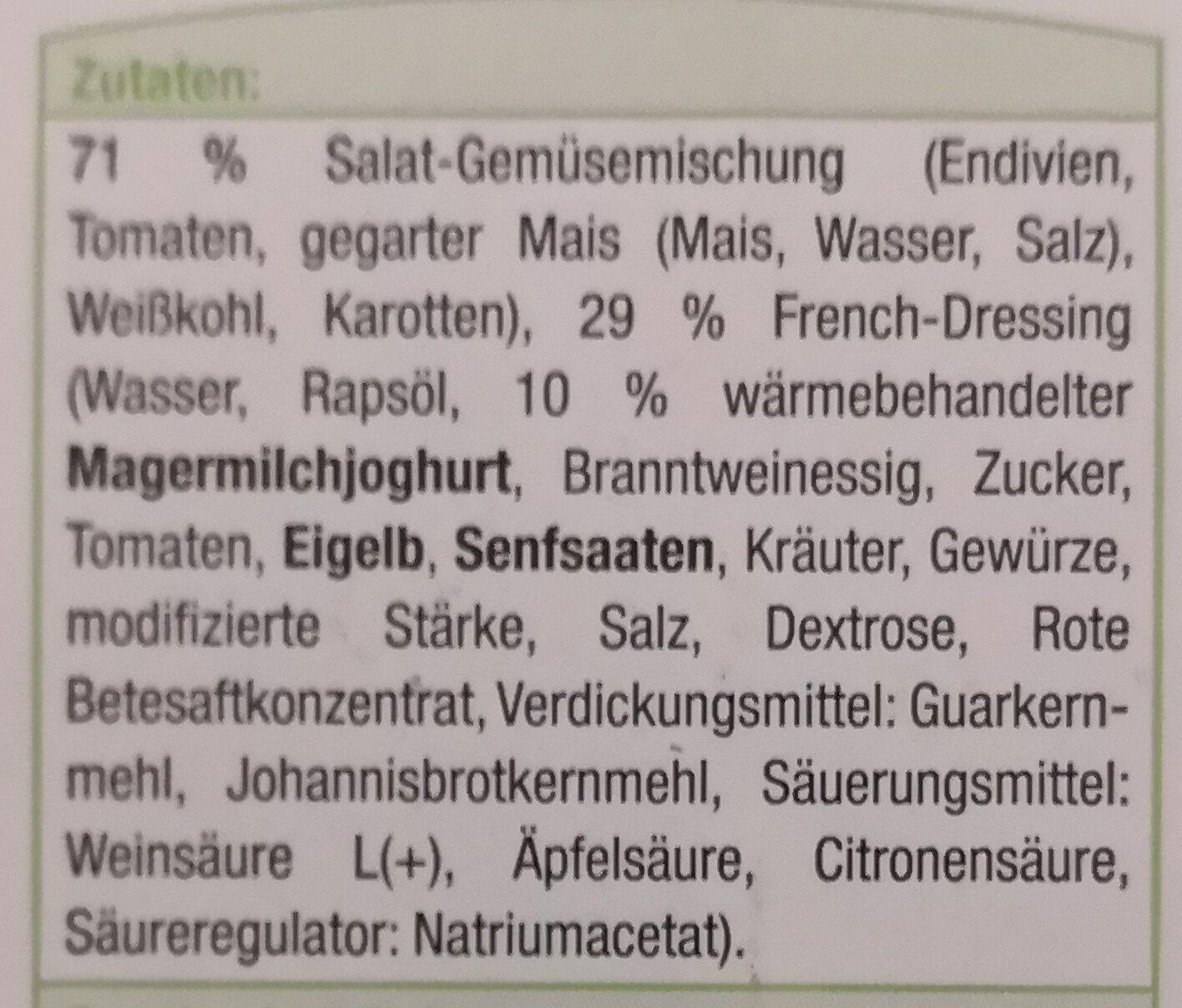 Gartensalat - Zutaten - de