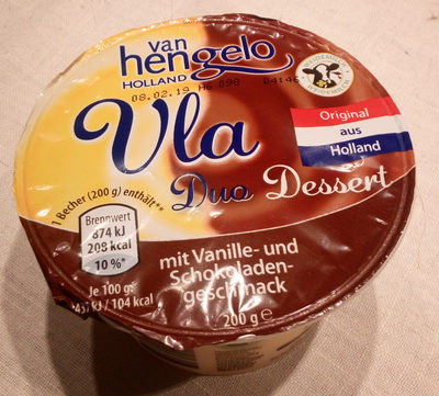 Vla Duo Dessert - Product