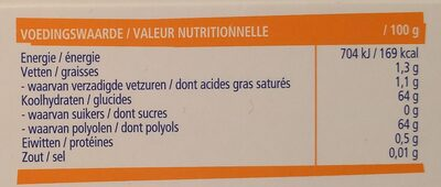 Frozn Sportlife Intensemint - Voedingswaarden - nl