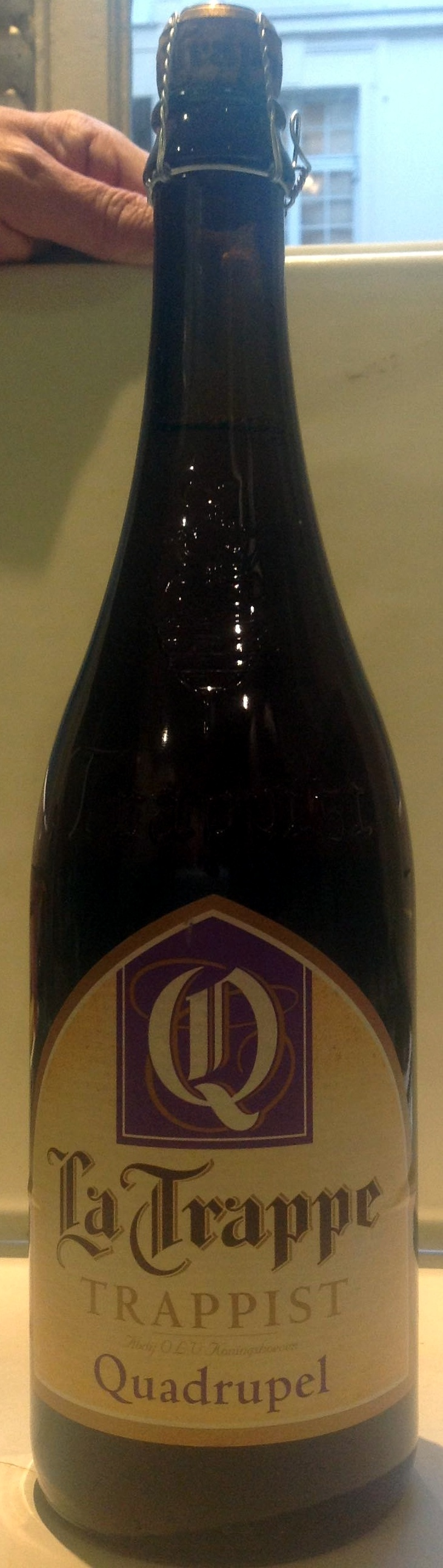 Picture of: La Trappe Trappist Amber Quadruppel 75 Cl Fles