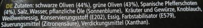 Olivio Chili - Inhaltsstoffe