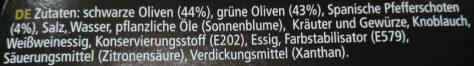 Olivio Chili - Ingredients - de