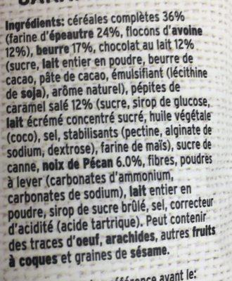 Big muesli cookies - Ingredients