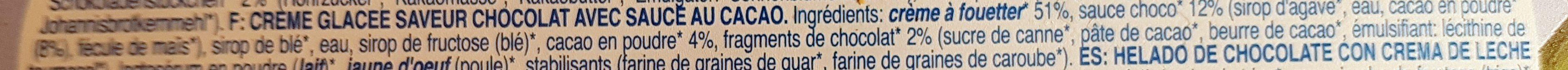 Choco Mood - Ingrédients