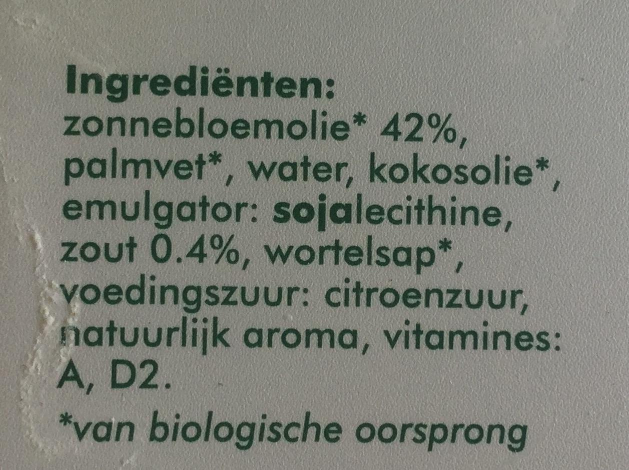 Margarine - Ingredients