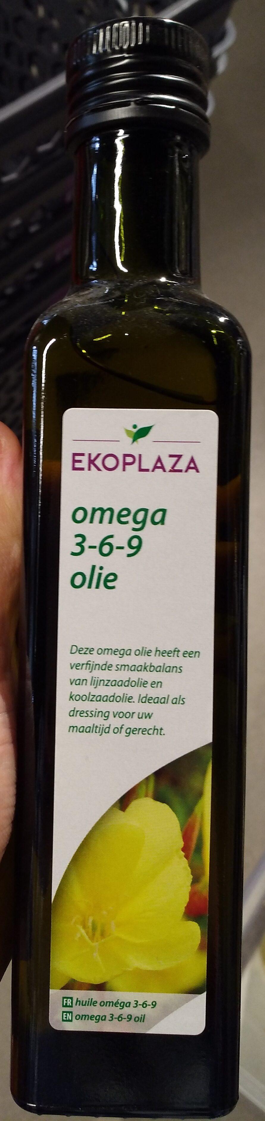 Omega 3-6-9 olie - Product