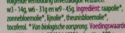 Omega 3-6-9 olie - Ingrediënten