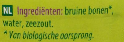 Bruine bonen - Ingredients - nl