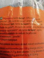stroopwafels - Ingredients - fr