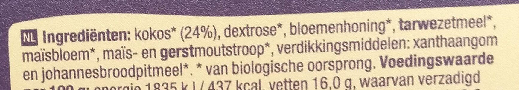 Kokosbrod - Ingredients - nl