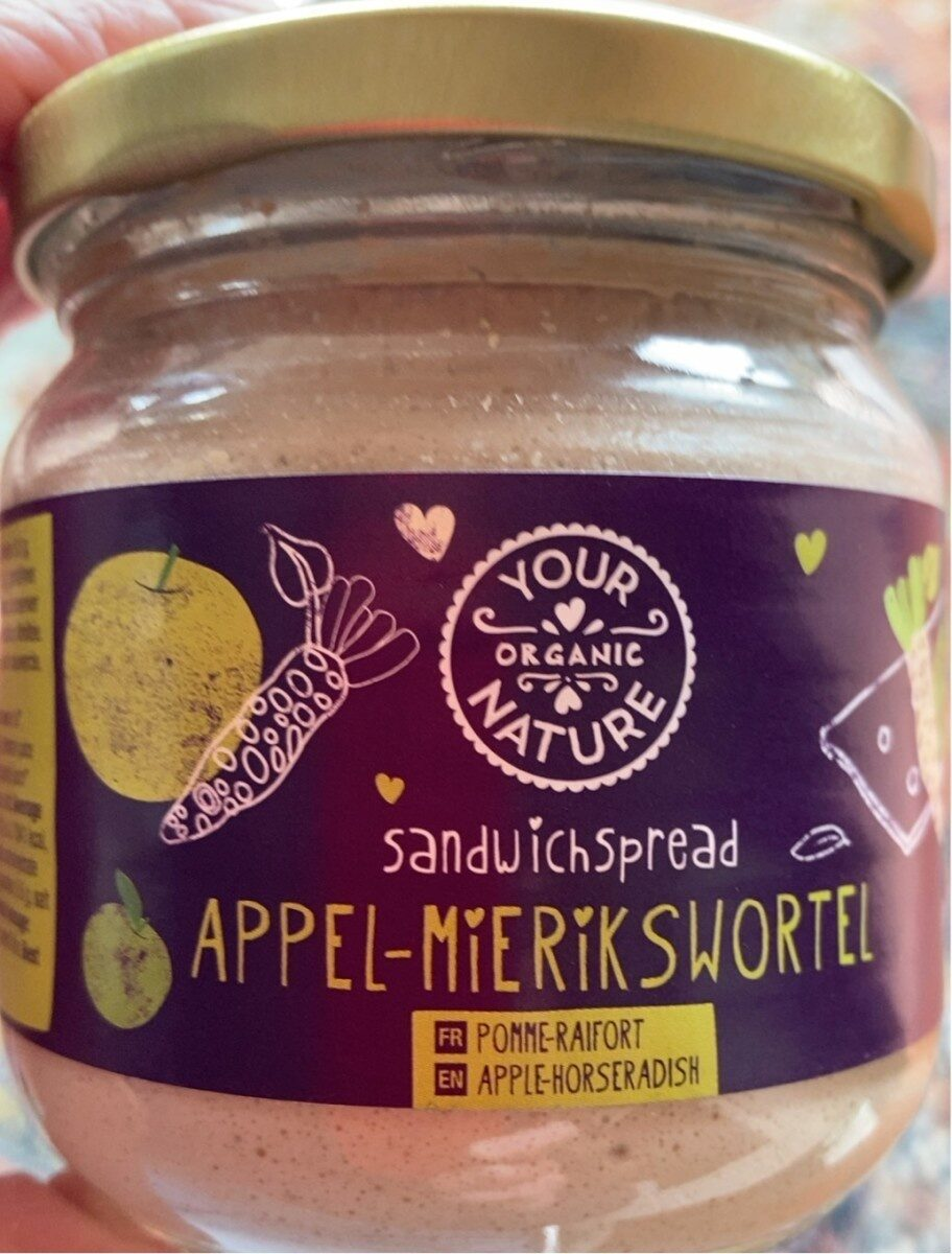 Appel - mierikswortel spread - Product - nl