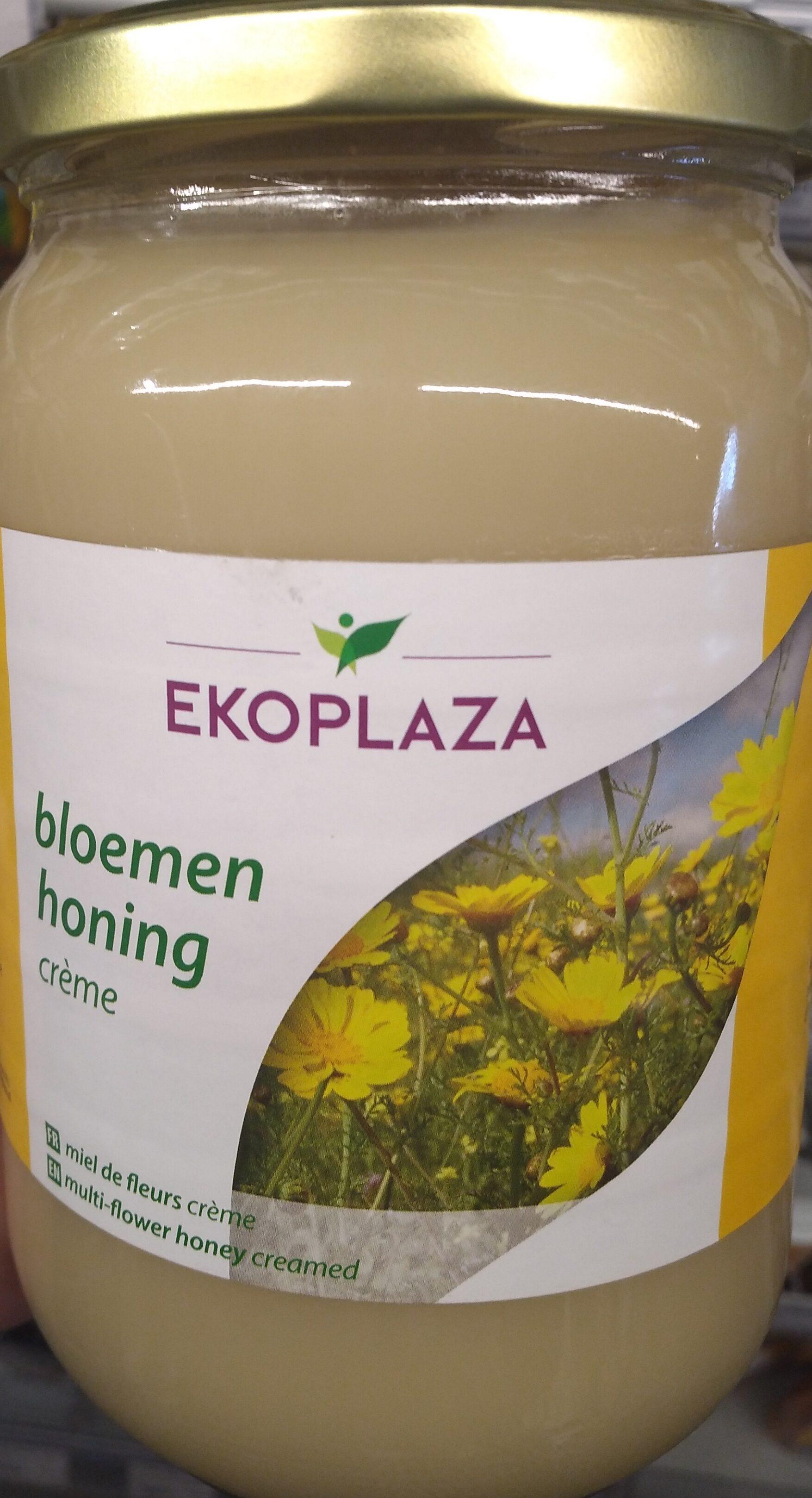 Bloemenhoning crème - Product