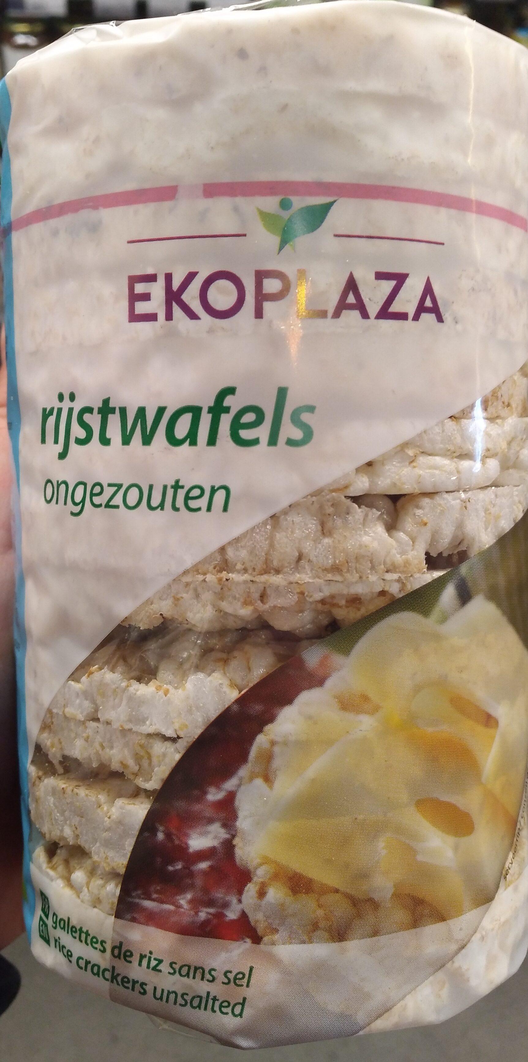 Rijstwafels ongezouten - Product - nl