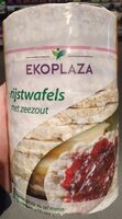 Rijstwafels met zeezout - Produit - nl