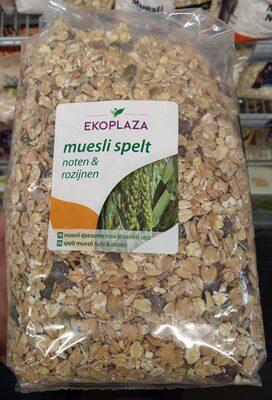 Muesli spelt noten & rozijnen - Product