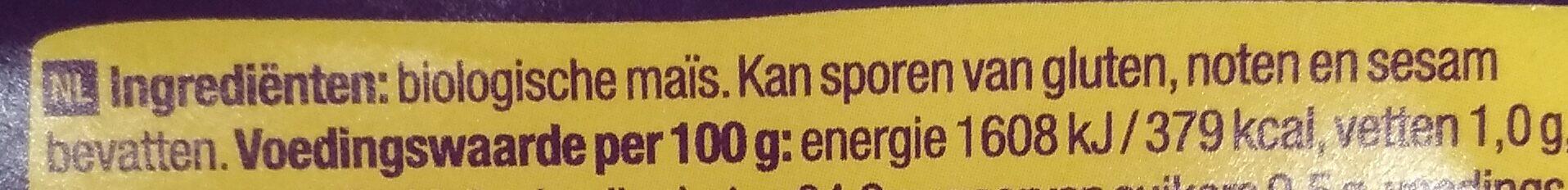 Cornflakes - Ingrediënten - nl
