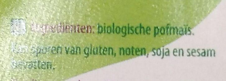 Pofmaïs - Ingrediënten