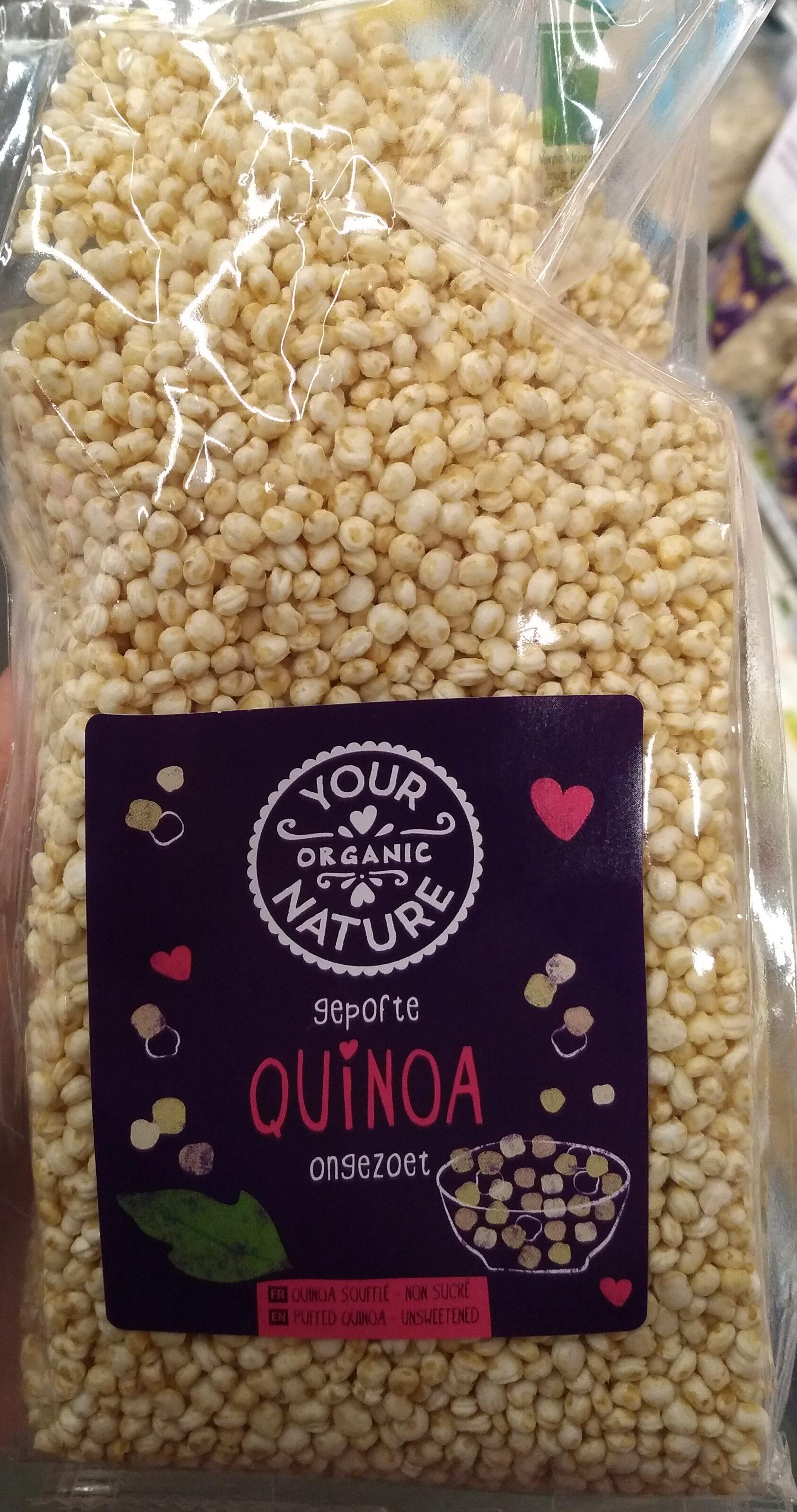 Gepofte Quinoa ongezoet - Product - nl