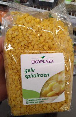 Gele splitlinzen - Product - nl