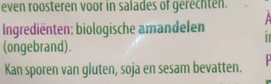 Amandelen - Ingrediënten - nl