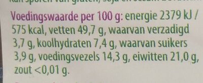 Amandelen - Voedingswaarden - nl