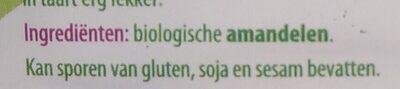 Amandelen geblancheerd - Ingredients - nl