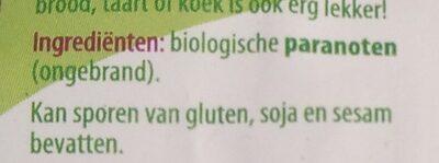 Paranoten - Ingredients