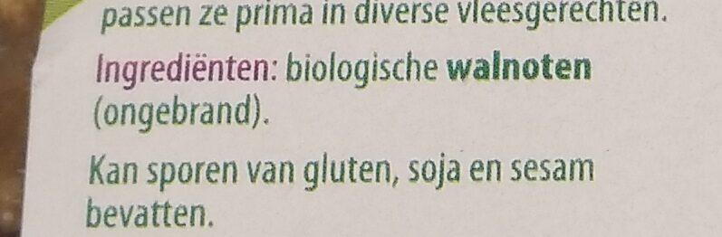 Walnoten - Ingrediënten - nl