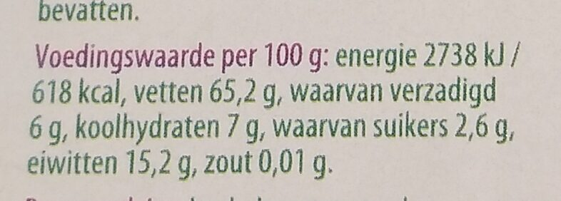 Walnoten - Voedingswaarden - nl