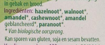 Gemengde noten - Ingredients - nl