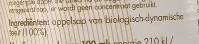 Appelsap - Ingredients - nl