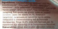 Chocolade rozijnen - Ingrediënten