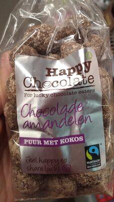 Chocolade amandelen puur met kokos - Product - nl