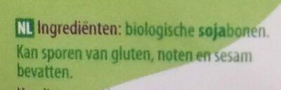 Soja bonen - Ingrédients - nl
