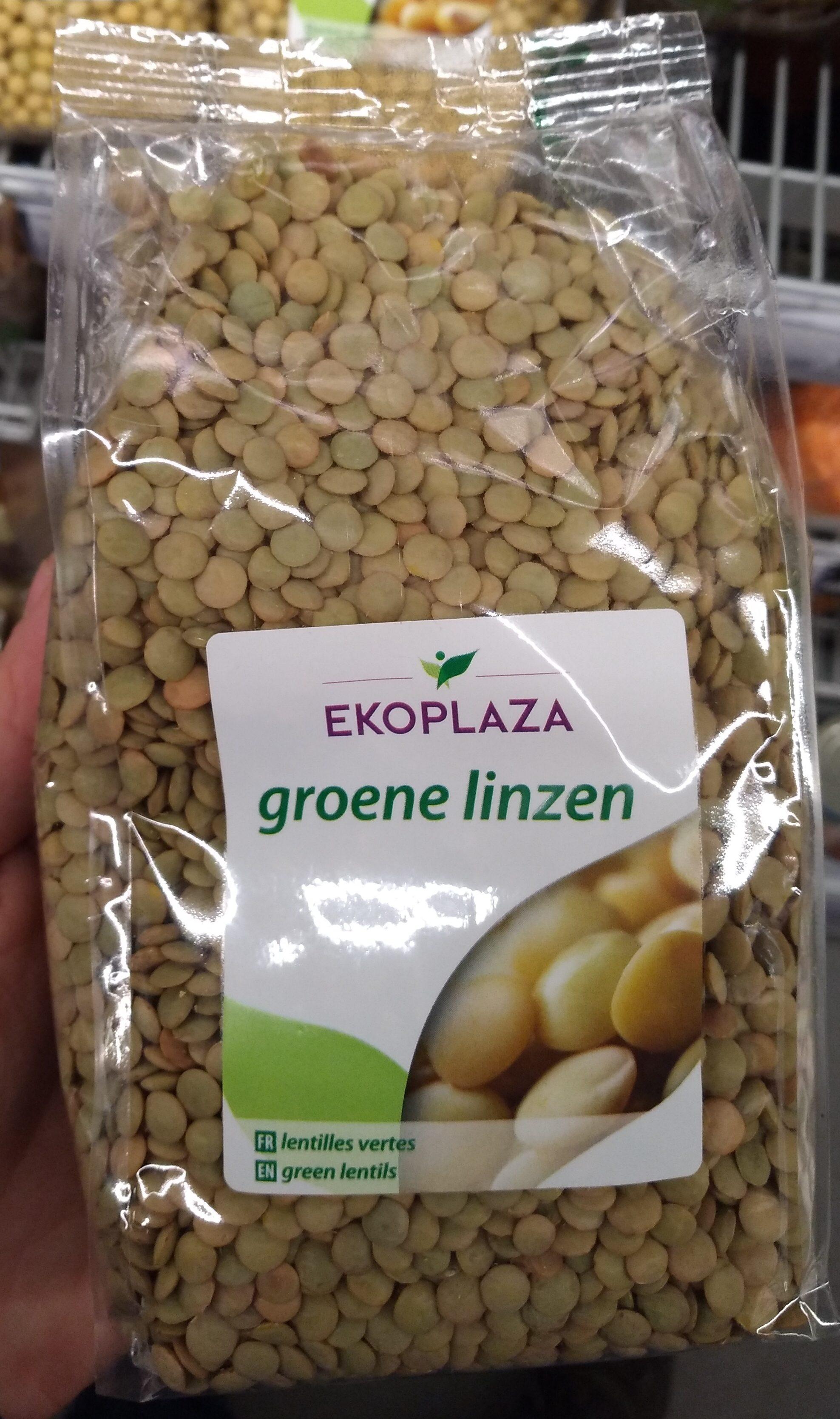 Groene linzen - Produit - nl