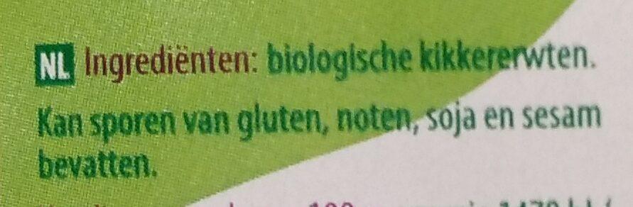 Kikkererwten - Ingredients - nl